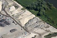 Kreetsand: EUROPA, DEUTSCHLAND, HAMBURG 22.08.2018:   Tiedeelbe Konzept Kreetsand, Hamburg Port Authority (HPA), soll auf der Ostseite der Elbinsel Wilhelmsburg zusaetzlichen Flutraum für die Elbe schaffen. Das Tidevolumen wird durch diese strombauliche Massnahme vergroessert und der Tidehub reduziert. Gleichzeitig ergeben sich neue Moeglichkeiten für eine integrative Planung und Umsetzung verschiedenster Interessen und Belange aus Hochwasserschutz, Hafennutzung, Wasserwirtschaft, Naturschutz und Naherholung.