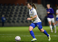 20180126 - OOSTAKKER , BELGIUM : Gent's Jody Vangheluwe pictured during the quarter final of Belgian cup 2018 , a womensoccer game between KAA Gent Ladies and RSC Anderlecht , at the PGB stadion in Oostakker , friday 27 th January 2018 . PHOTO SPORTPIX.BE | DAVID CATRY