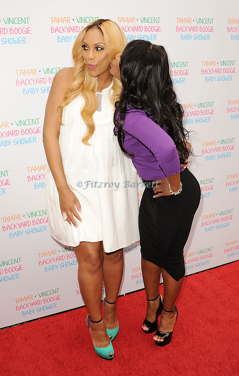 May 5, 2013   Beverly Hills, Ca..Tamar Braxton and Toni Braxton.Tamar Braxton celebrates her Carnival Themed Baby Shower with friends and family, at the Hotel Bel Air..© Fitzroy Barrett / AFF-USA.COM
