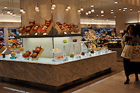 The Queens fruit store in the Isetan Sdepartment Store in Central Tokyo, Japan. The store sells some of Japans most expensive fruit.<br />