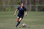 CARY, NC - APRIL 01: Courage's Samantha Witteman. The NWSL's North Carolina Courage played a preseason game against the Wake Forest Demon Deacons on April 1, 2017, at WakeMed Soccer Park Field 3 in Cary, NC. The Courage won the match 3-0.