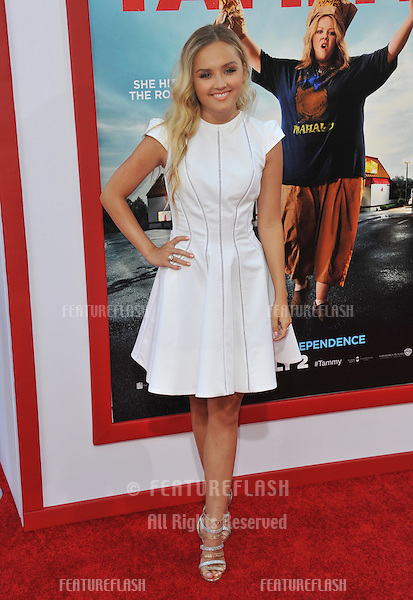 Mia Rose Frampton at the premiere of her movie &quot;Tammy&quot; at the TCL Chinese Theatre, Hollywood.<br /> June 30, 2014  Los Angeles, CA<br /> Picture: Paul Smith / Featureflash
