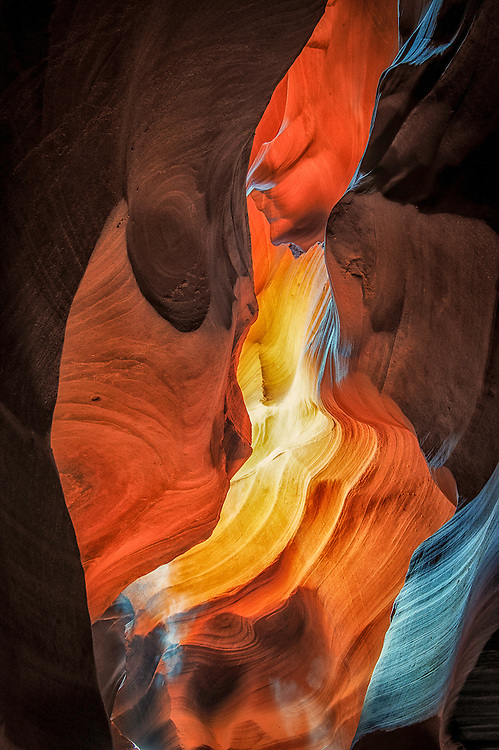 March 10 thru 20, 2013 / WPPI Convention, Neon Graveyard and Northern Arizona / Antelope Canyon and Southern Utah / Photo by Bob Laramie March, 2013 / Antelope Canyon / Page Arizona / Photo by Bob Laramie