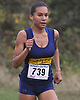 Katherine Lee of Shoreham-Wading River legs out the final stretch of the Suffolk County varsity cross country Division Championships at Sunken Meadow State Park on Thursday, Oct. 26, 2017. She won the 5K race.