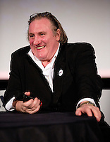 Gérard Depardieu attends the Ramdam Film Festival in Tournai - Belgium.