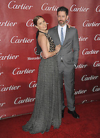 Amy Adams &amp; husband Darren Le Gallo at the 2014 Palm Springs International Film Festival Awards gala at the Palm Springs Convention Centre.<br /> January 4, 2014  Palm Springs, CA<br /> Picture: Paul Smith / Featureflash