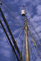 Crow's Nest on Tall Ship