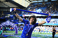 Chelsea defender David Luiz (30) celebrates winning the premier league after the Premier League match between Chelsea and Sunderland at Stamford Bridge on May 21st 2017 in London, England. <br /> Festeggiamenti Chelsea vittoria Premier League <br /> Foto Leila Cocker/PhcImages/Panoramic/Insidefoto