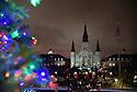 Christmas Caroling in Jackson Square, 2019