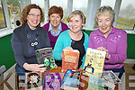 BOOK WORMS: Members of the Kells Reading Group at the Signal Box in Kells on Friday, l-r: Tara Kavanagh, Kathleen Golden, Ann Tiernan, Helena Murphy.