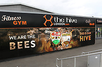 General view of the outside of a building at The Hive, Home of Barnet FC during Barnet vs Solihull Moors, Vanarama National League Football at the Hive Stadium on 28th September 2019