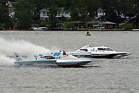 "Mark Weber, GNH-83 ""Blue Mule II, Scott Liddycoat, GNH-1  (Grand National Hydroplane(s)"