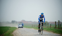 Paris-Roubaix 2012 recon..Sep Vanmarcke
