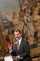 King Felipe VI of Spain Visits Burgos