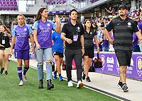 Orlando, FL - Saturday July 20, 2019:  Alex Morgan #13 during a regular season National Women's Soccer League (NWSL) match between the Orlando Pride and the Sky Blue FC at Exploria Stadium.