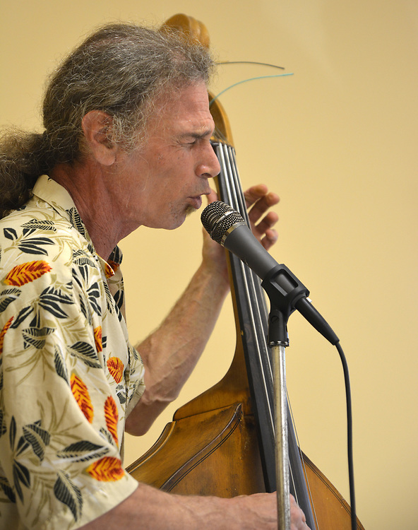 Doug Marcus performing at the Saugerties Democratic Committee Lasagna Dinner held at the Saugerties Senior Citizens. Center in Saugerties, NY, on Thursday, May 11, 2017.. Photo by Jim Peppler. Copyright Jim Peppler/2017.
