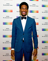 Jon Batiste arrives for the formal Artist's Dinner honoring the recipients of the 40th Annual Kennedy Center Honors hosted by United States Secretary of State Rex Tillerson at the US Department of State in Washington, D.C. on Saturday, December 2, 2017. The 2017 honorees are: American dancer and choreographer Carmen de Lavallade; Cuban American singer-songwriter and actress Gloria Estefan; American hip hop artist and entertainment icon LL COOL J; American television writer and producer Norman Lear; and American musician and record producer Lionel Richie. Photo Credit: Ron Sachs/CNP/AdMedia
