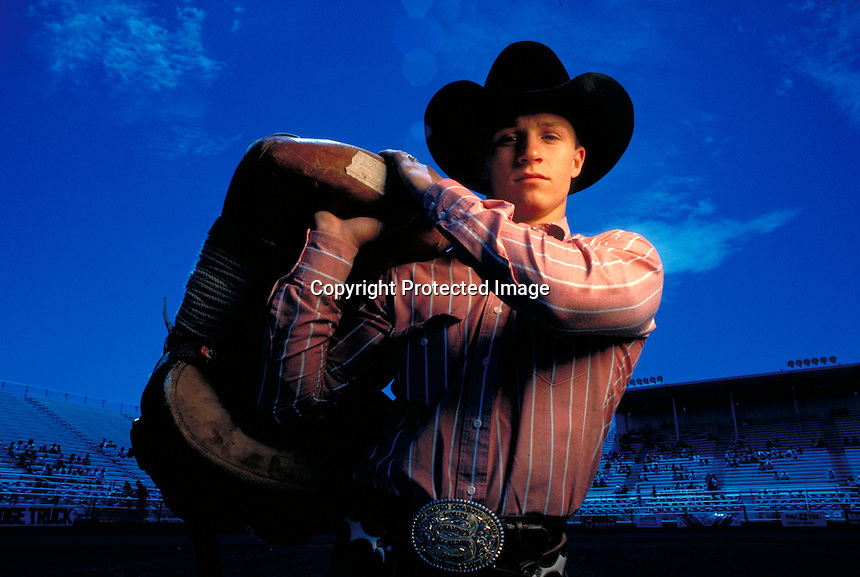 Ty Murray, seven time world rodeo champion.Photo by Chris Covatta