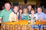 Enjoying the craic at the Bridge Bar Portmagee were l-r; Leslie Dunne, Gabriel Buttler, Helen Farmer, Beryl Stracey, Muiris O'Brien, Carmel Kerns & Julian Stracey.