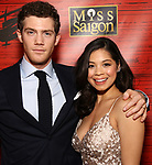 "Alistair Brammer and Eva Noblezada attends The Opening Night After Party for the New Broadway Production of ""Miss Saigon"" at Tavern on the Green on March 23, 2017 in New York City"
