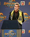 16 January 2004: Chad Marshall of Stanford University was selected with the second pick of the draft by the Columbus Crew. The Major League Soccer SuperDraft was held at the Charlotte Convention Center in Charlotte, NC as part of the annual National Soccer Coaches Association of America convention...