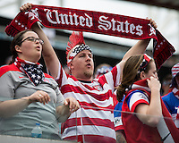 Jacksonville, Florida - Saturday, June 7, 2014: The US Men's National team vs The Nigerian Men's National team at EverBank Field.