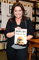 Rachael Ray pictured on her first stop of The Book Of Burgers Tour at Barnes & Noble in Princeton, New Jersey on June 6, 2012  © Star Shooter / MediaPunchInc