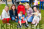 Family day<br /> ---------------<br /> Having fun at the annual Ted O'Keeffe memorial fun and sports day at Ballymac GAA ground last Sunday afternoon were L-R Noreen Riordan,Jennifer Reidy,Maura&amp;Jacob Short with Hanna&amp;Lilly O'Connor.