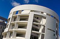 HypoVereinsbank (Unicredit)-Architekten Richard Meier und Frank Stella- im Bankenviertel, Stadt Luxemburg, Luxemburg
