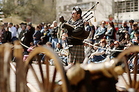 Atmosphere as seen during the celebration of the 175th anniversary of the battle of the Alamo, Saturday, March 5, 2011, in San Antonio. (Darren Abate/pressphotointl.com)