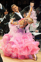 Roberto Villa and Morena Colagreco of Italy perform their dance during the professional standard competition of the UK Open Dance Championships held in Bournemouth International Centre. Organized by Dance News Special Events Ltd. Bournemouth, Great Britain, on January 21, 2009. ATTILA VOLGYI