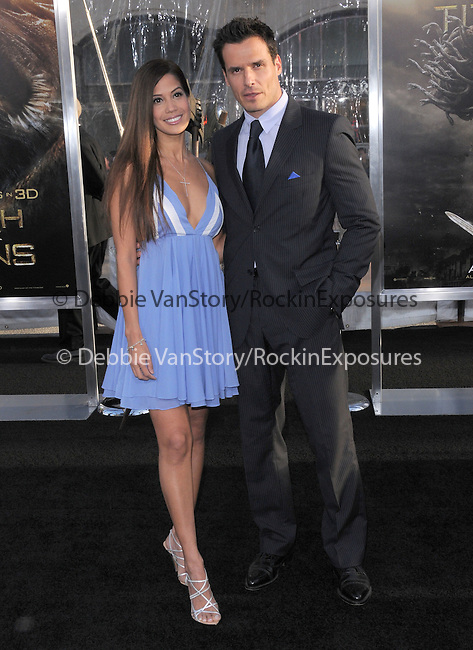 Antonio Sabato Jr. & Cheryl Moana Marie at The Warner Bros. Pictures L.A. Premiere of Clash of The Titans held at The Grauman's Chinese Theatre in Hollywood, California on March 31,2010                                                                   Copyright 2010  DVS / RockinExposures