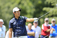 Byeong Hun An (KOR) on the par3 13th tee during Thursday's Round 1 of the 2017 PGA Championship held at Quail Hollow Golf Club, Charlotte, North Carolina, USA. 10th August 2017.<br /> Picture: Eoin Clarke | Golffile<br /> <br /> <br /> All photos usage must carry mandatory copyright credit (&copy; Golffile | Eoin Clarke)