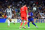 UEFA Champions League 2017/2018 - Matchday 1.<br /> FC Barcelona vs Juventus Football Club: 3-0.<br /> Gianluigi Buffon vs Ousmane Dembele.