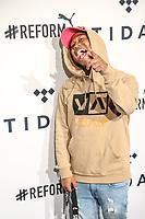 NOVA YORK, EUA, 23.10.2018 - CELEBRIDADES-EUA - Shiggy no tapete vermelho da 4º edição do Tidal X no Barclays Center no Brooklyn na cidade de Nova York nos Estados Unidos na noite desta terça-feira 23. (Foto: William Volcov/Brazil Photo Press)
