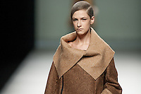 Etxebarria in Mercedes-Benz Fashion Week Madrid 2013
