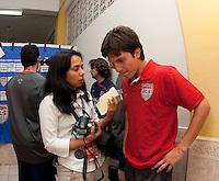 Jose Francisco Torres after FIFA World Cup qualifier against El Salvador. USA tied El Salvador 2-2 at Estadio Cuscatlán Stadium in El Salvador on March 28, 2009.