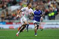 Dan Norton of England during the iRB Marriott London Sevens at Twickenham on Saturday 11th May 2013 (Photo by Rob Munro)