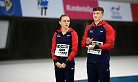 Great Britain's Noah Williams and Lois Toulson compete in the mixed 10m Synchro Platform<br /> <br /> Photographer Hannah Fountain/CameraSport<br /> <br /> FINA/CNSG Diving World Series 2019 - Day 2 - Saturday 18th May 2019 - London Aquatics Centre - Queen Elizabeth Olympic Park - London<br /> <br /> World Copyright © 2019 CameraSport. All rights reserved. 43 Linden Ave. Countesthorpe. Leicester. England. LE8 5PG - Tel: +44 (0) 116 277 4147 - admin@camerasport.com - www.camerasport.com