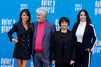 MADRID, SPAIN-March 12: Penelope Cruz and Pedro Almodovar with  Julieta Serrano attend the Dolor y Gloria photocall at the Villamagna hotel in Madrid, Spain on the 12th of March of 2019. March12, 2019. ***NO SPAIN***<br /> CAP/MPI/RJO<br /> &copy;RJO/MPI/Capital Pictures
