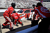 #18: Ryan Preece, Joe Gibbs Racing, Toyota Camry Rheem pits.