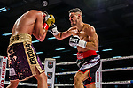 Emre Cukur (GER) vs.re: Davide Faraci (ITA) - Super middleweight ; Boxen: ECB ECBOXING am 09.02.2020 in Goeppingen (EWS Arena), Baden-Wuerttemberg, Deutschland.<br /> <br /> Foto © PIX-Sportfotos *** Foto ist honorarpflichtig! *** Auf Anfrage in hoeherer Qualitaet/Aufloesung. Belegexemplar erbeten. Veroeffentlichung ausschliesslich fuer journalistisch-publizistische Zwecke. For editorial use only.
