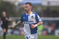 Matt Taylor of Bristol Rovers during the Sky Bet League 2 match between Bristol Rovers and Dagenham and Redbridge at the Memorial Stadium, Bristol, England on 7 May 2016. Photo by Mark  Hawkins / PRiME Media Images.