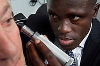Consultant ENT Head & Neck Surgeon Examination ear examination