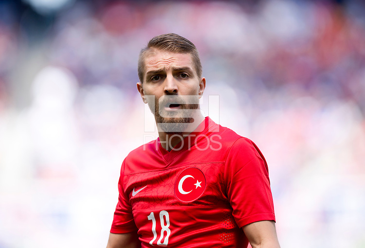 Harrison, NJ - June 1, 2014: The USMNT defeated Turkey 2-1 during an international friendly at Red Bull Arena.