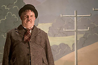 STAN &amp; OLLIE (2018)<br /> ohn C. Reilly as Oliver Hardy<br /> *Filmstill - Editorial Use Only*<br /> CAP/FB<br /> Image supplied by Capital Pictures