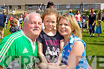 Frank Leen, Leah Griffin and Brenda Griffin enjoying the Connolly Park  fun day on Saturday