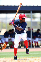 GCL Nationals Jean Carlos Valdez #14 during a game against the GCL Mets at the Washington Nationals Minor League Complex on June 20, 2011 in Melbourne, Florida.  The Nationals defeated the Mets 5-3.  (Mike Janes/Four Seam Images)