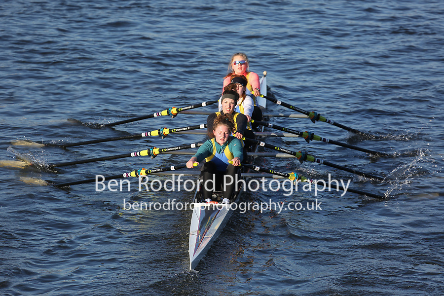 Crew: 52   Warrington Rowing Club   WTN-STANHOPE-2   W.J18.4x- <br /> <br /> Head of the Trent 2018<br /> Division 3<br /> <br /> To purchase this photo, or to see pricing information for Prints and Downloads, click the blue 'Add to Cart' button at the top-right of the page.