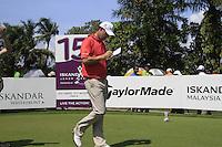 Padraig Harrington (IRL) walks off the 15th tee during Sundays Final Round 3 of the 54 hole Iskandar Johor Open 2011 at the Horizon Hills Golf Resort Johor, Malaysia, 19th November 2011 (Photo Eoin Clarke/www.golffile.ie)